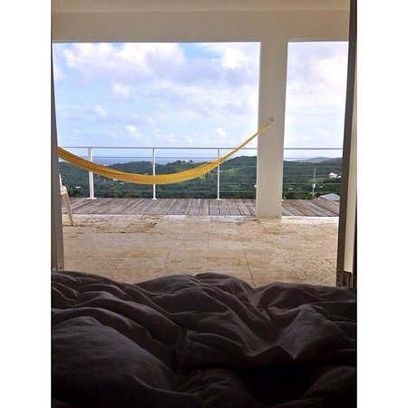 360 Vieques: My view from my bed!