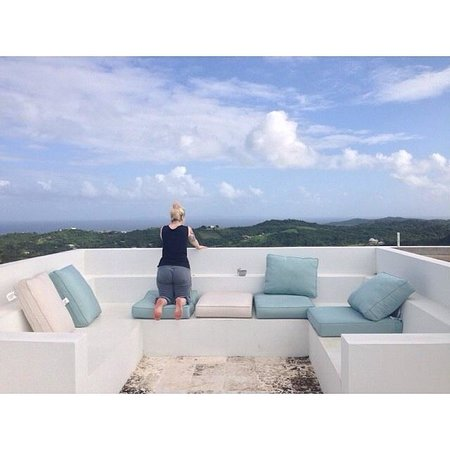 360 Vieques: My friend taking in the view.