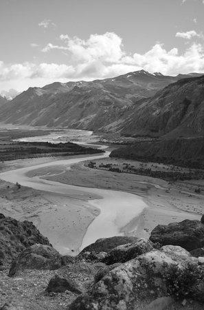 Estancia La Quinta: Vista al Rio de las Vueltas