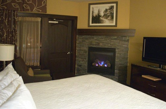 Hilton Garden Inn Gatlinburg Downtown : Gas Fireplace