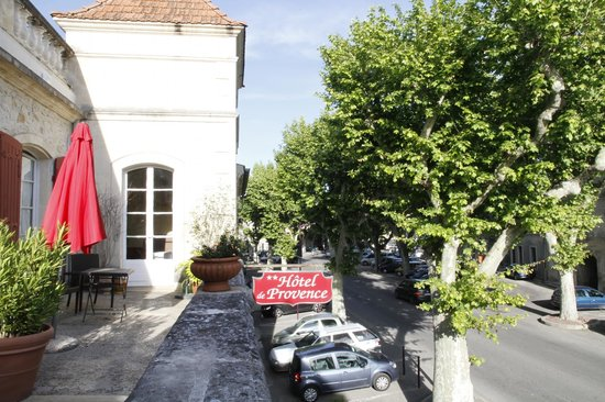 Hotel de Provence: View from Hotel