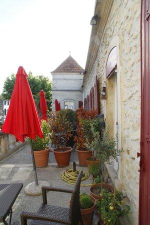 Hotel de Provence: Hotel Veranda