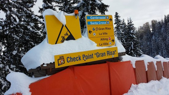 Dolomiti Ski Tour: ceck point