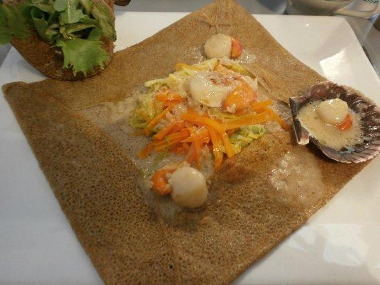 Debin ur Begad : Gallettes Briochine - delicious!