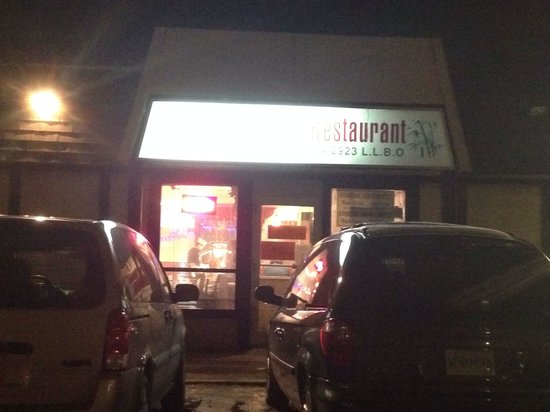 Canton Restaurant: Out front