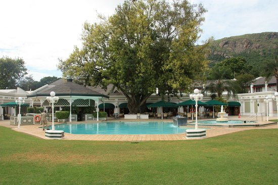 Royal Swazi Spa: La piscine