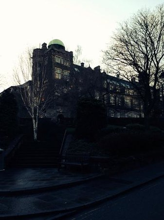 The Stirling Highland Hotel: View of the observatory