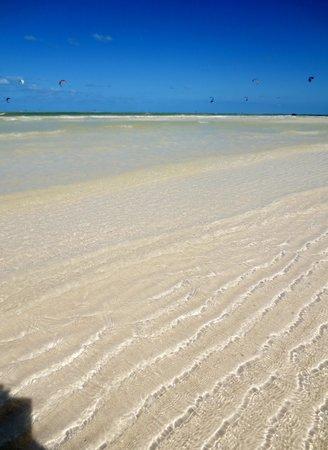 Hostel & Cabanas Ida y Vuelta Camping: La plage unique et immaculée