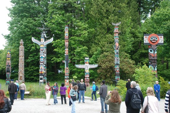 Stanley Park : Totem Poles