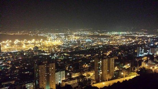 Crowne Plaza Hotel Haifa: view from room
