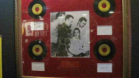 Sun Studio: Framed Million $$ Quartet