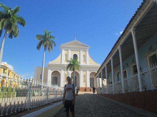 Hostal El Guayito : plaza major