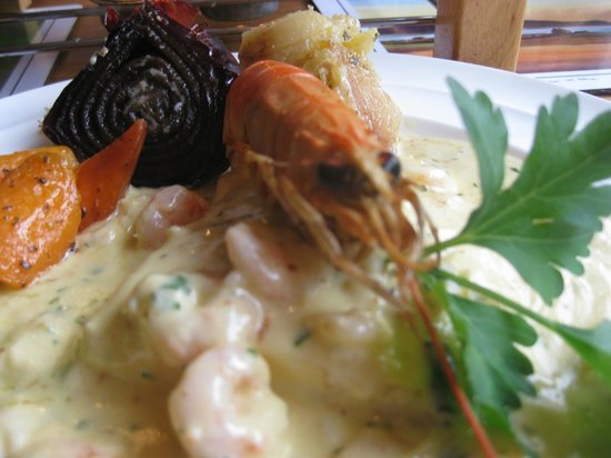 Oakwood Restaurant: Seafood chowder