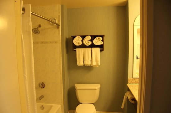 Holiday Inn Express Hermosa Beach: Bathroom