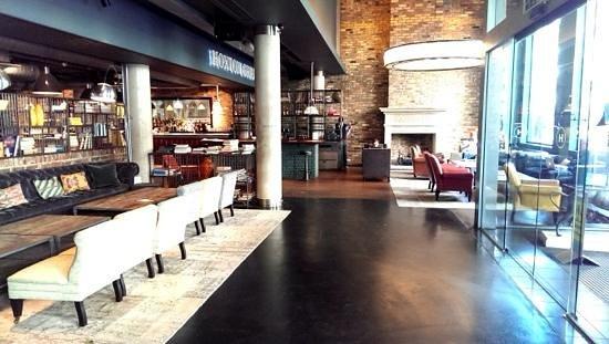 The Hoxton, Shoreditch: Entrance lobby, Hoxton Hotel