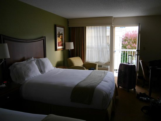 Holiday Inn Express Asheville - Biltmore Square Mall: Zimmer im 1 Stock