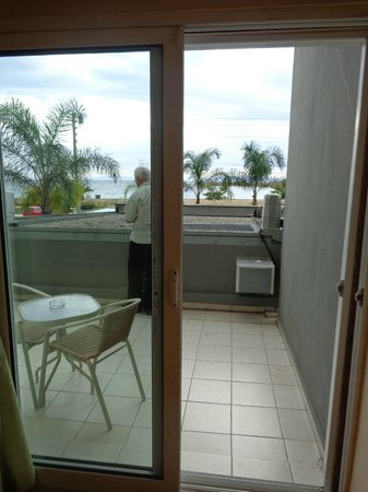 Palace Hotel Bomo Club : Vue du balcon