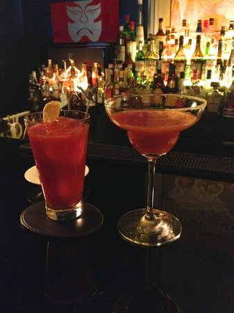 St. Regis Bar: Shogun Mary and Red Snapper