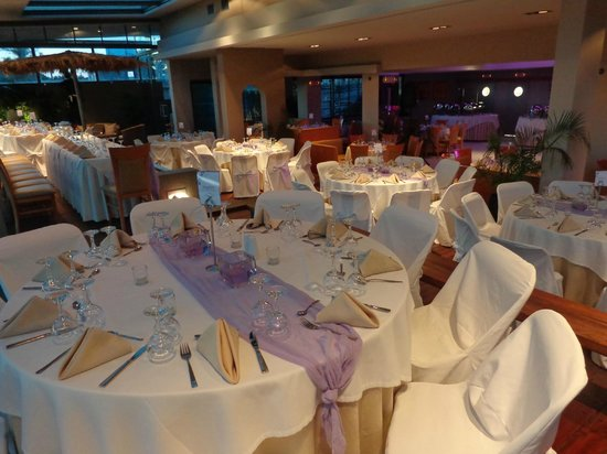 Palace Hotel Bomo Club: Tables pour mariage