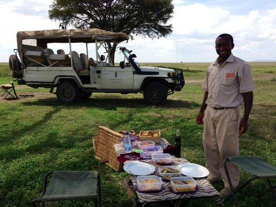 Sanctuary Kusini, Serengeti: Picnic Lunch Kusini Sanctuary style