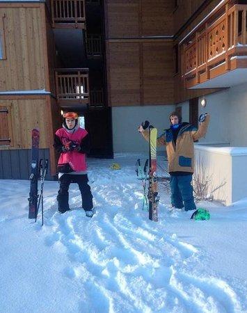Residence du Soleil: Ski in Ski out