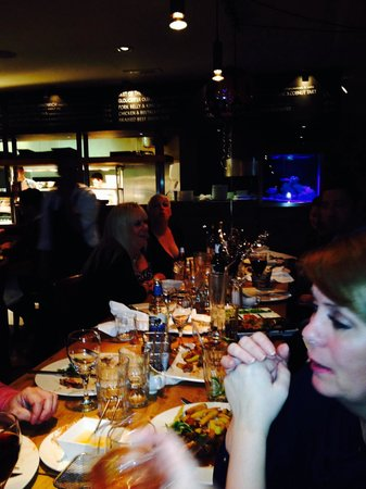 The Blackhouse Grill - Chester: Our large party table