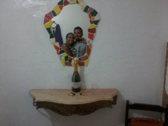 Vila Carioca Hostel: Presente do Hostel para o réveillon.