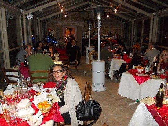 Agriturismo Torre Pernice : La sala ristorante
