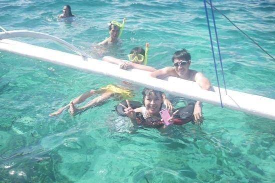 Ocean Dreamer Island Tours : fish feeding