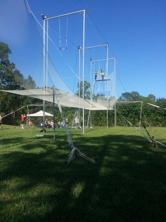 Aerial Trapeze Academy : The setup is awesome!