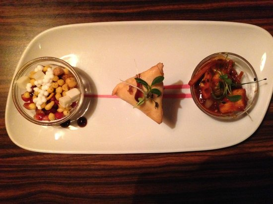 Moksh: Unique starters - tasted as great as they looked