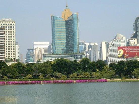 Admiral Suites Bangkok : the nearby Benjakiti Park