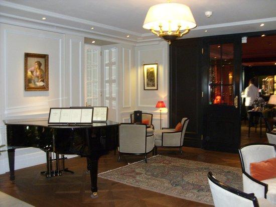 Hotel Sacher Salzburg : Hotelbar mit Piano