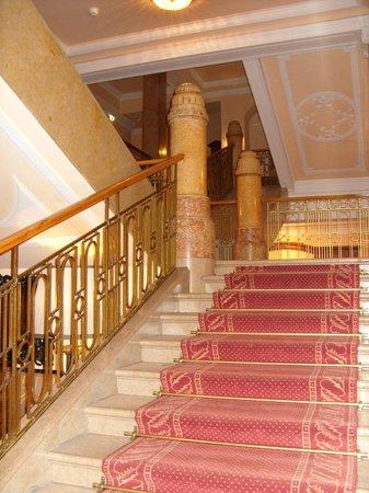 Hotel Sacher Salzburg : Treppenaufgang