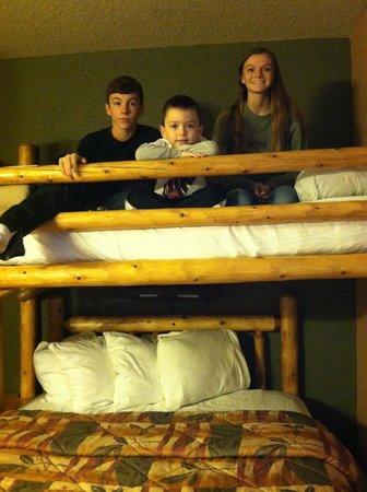 Wilderness at the Smokies Resort: Neat kids room!