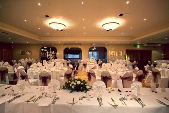 The Tudor Hotel: Tudor Suite from top table (Photo by Fowlis Photography)