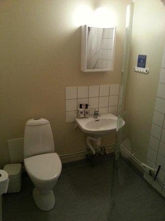 Freys Hotel Lilla Radmannen: Badezimmer