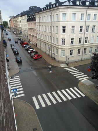 Freys Hotel Lilla Radmannen: Blick aus dem Zimmer nach Links