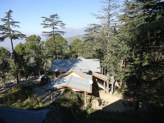 Hotel Mamleshwar (HPTDC): hotel view from room