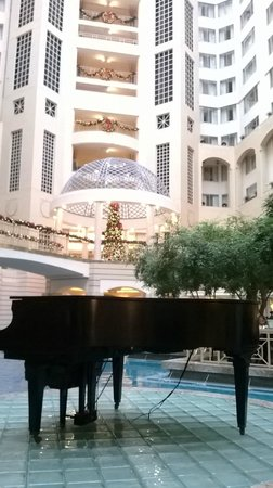 hotel lobby picture of grand hyatt washington. Black Bedroom Furniture Sets. Home Design Ideas