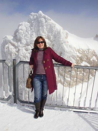 Zugspitze: E era verão!
