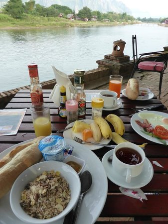 Ban Sabai Riverside Bungalow: Breakfast