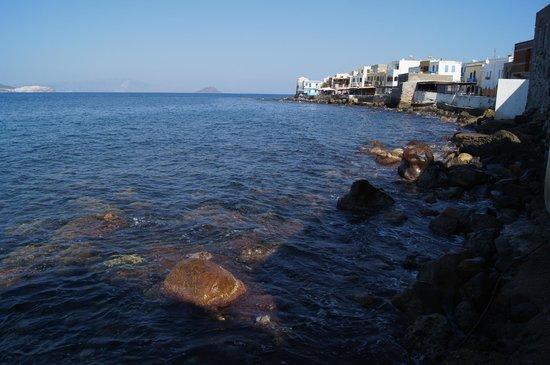 Nisyros : Вид на городок