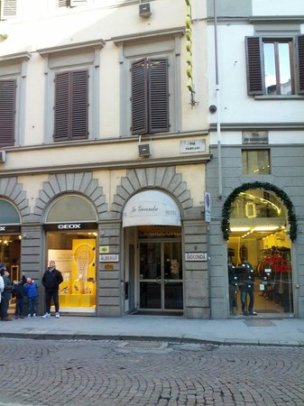 Hotel La Gioconda : L'ingresso