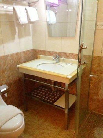 Al Qidra Hotel : Washroom