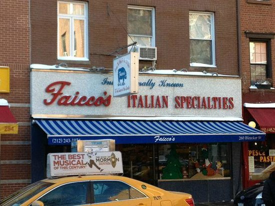 Foods of New York Tours: A very old family owned Italian food shop.