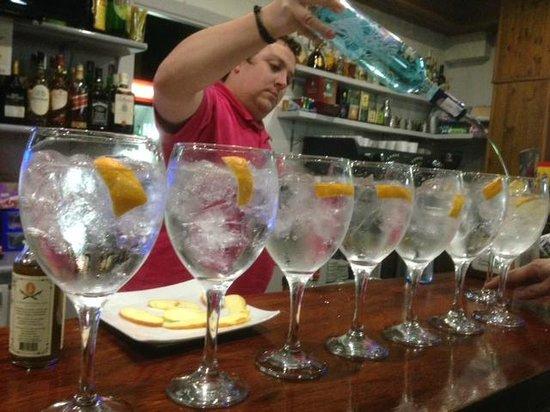 Complejo Ametzagana : Gin-tónics fantásticos