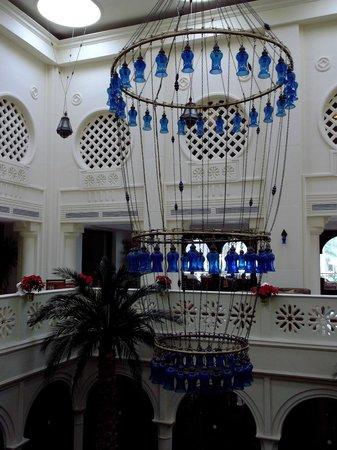 Baron Palms Resort Sharm El Sheikh : reception Baron Palms resort