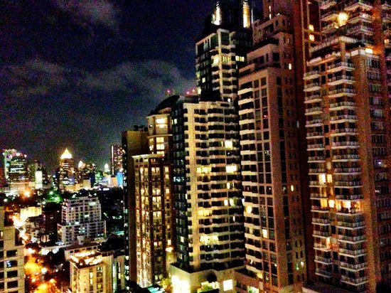 Hotel Muse Bangkok Langsuan - MGallery Collection : View from the Speak easy on the 24th floor