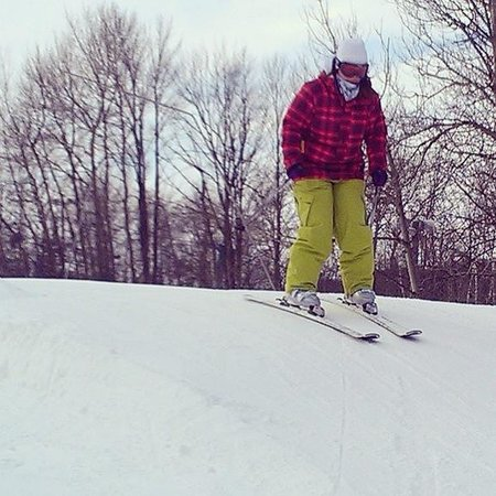 Hockley Valley Resort: Me on the slopes
